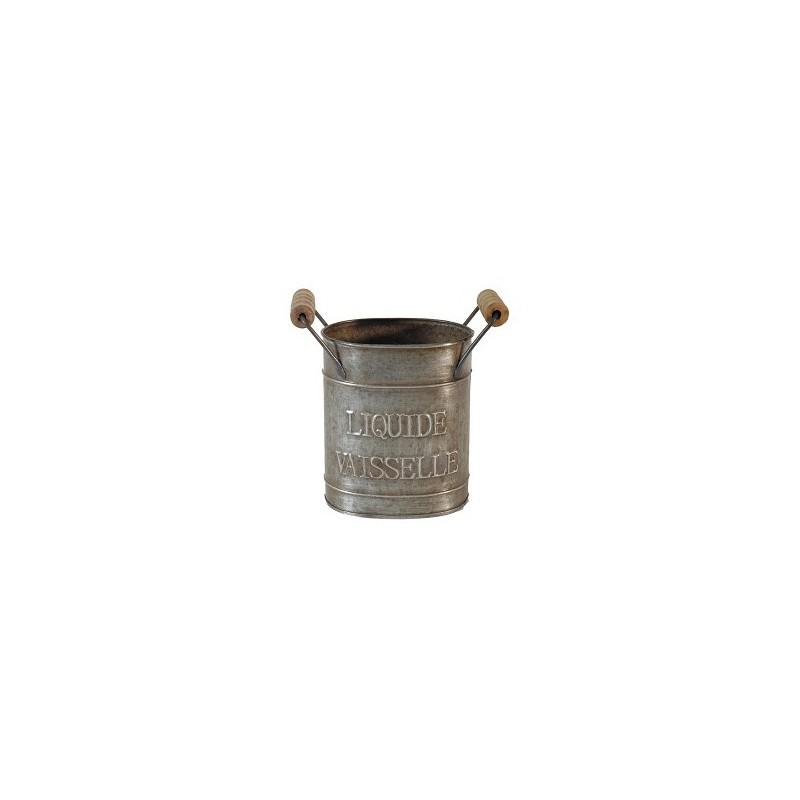 Dishwashing liquid pot liquide vaiselle in zinc by antic for Decoration zinc
