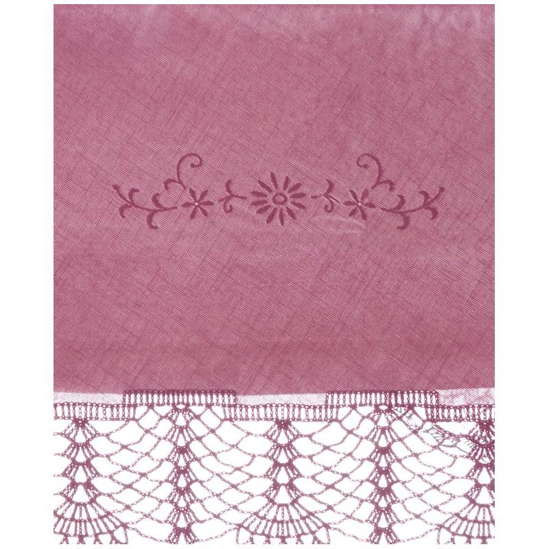 Vinyl Lace Tablecloth Purple 152x228 Cm Signed Blanc Mariclo