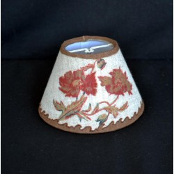 Lampshade flower, hazelnut, diameter 12 cm