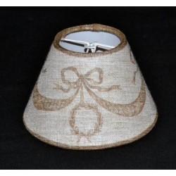 Lampshade guirlande, hazelnut, diameter 12 cm