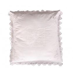 Taie d'oreiller Dentelière 60x60 cm