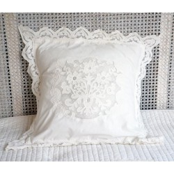 Pillow cover TubEreuse ivory 60x60 cm