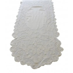 Table runner Musette ivory 60x180 cm