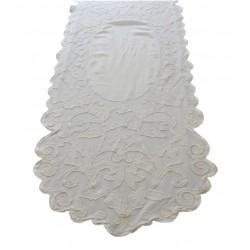 Table runner Musette ivory 60x180 cm
