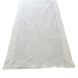 Table runner Chimène ivory 50x180 cm