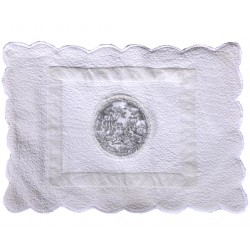 Tapis de bains Marivaudage Blanc