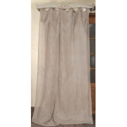 Curtain les Fées lilas 130x300 cm