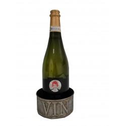 Porte bouteille en zinc VIN