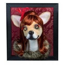 Betty le chihuahua, trophée décoratif à suspendre