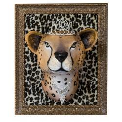 Bérenice le guepard, trophée décoratif à suspendre