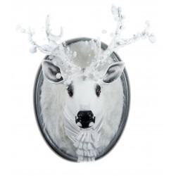 Olaf le cerf, trophée décoratif à suspendre