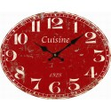 "Red clock ""Cuisine"""