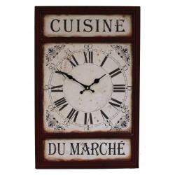"""Pendule """"Cuisine du marché"""""""
