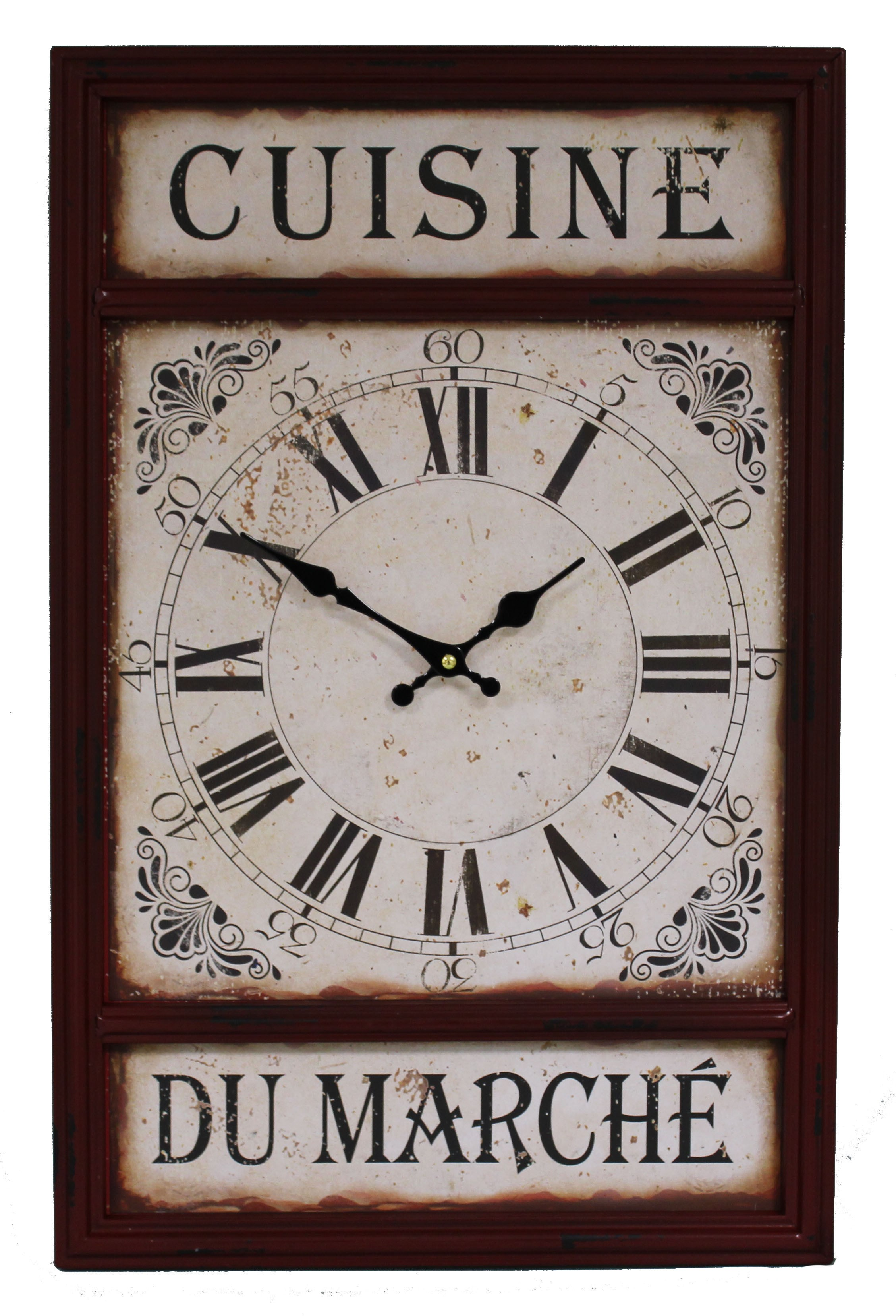 horloge pour cuisine beautiful pendule deco pour cuisine. Black Bedroom Furniture Sets. Home Design Ideas