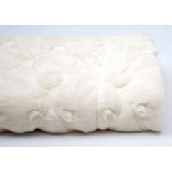 Plaid crème 120x150 cm