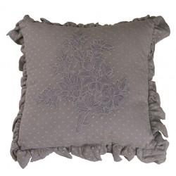Mini cushion Libertine colombe 30x30 cm