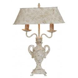 Lampe amphore double