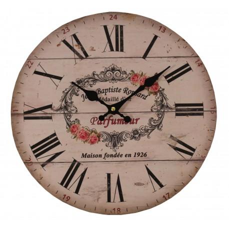 """Pendule """"PARFUMEUR"""" de 34 cm de diamètre"""