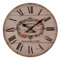 "Wall clock ""PARFUMEUR"" 34 cm diameter"