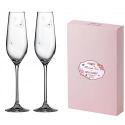 Coffret de 2 flûtes à champagne Miranda Kerr by Swarovski