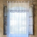 "Curtain white heart ""Tenda Blanc"""