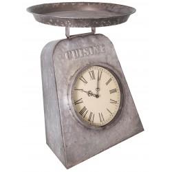 Horloge balance en zinc