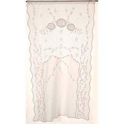 Brise bise Volupté blanc 45 x 70 cm