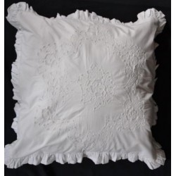 Pillowcase Bouquet white