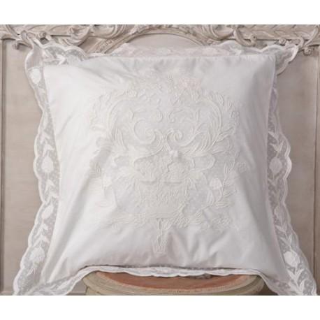 Pillowcase jardin fran ais 60x60 cm signed coquecigrues for Jardin francais jewelry