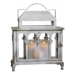 Lantern white pearl edge