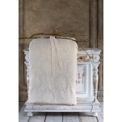 Set edredon Marie Antoinette beige avec 2 housses de coussin