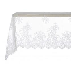 Table cloth Off white Victoria 150 x 150