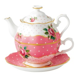 Friendship Tea For One Cheeky Pink collection