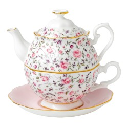 Friendship Tea For One Rose Confetti collection