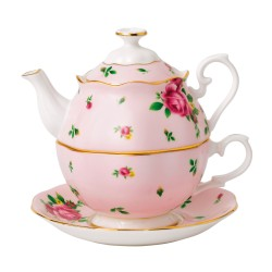 Friendship Tea For One New Country Roses Pink collection