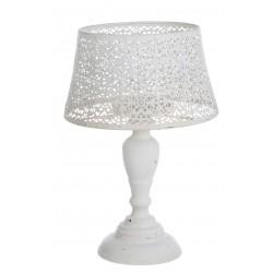 Porte bougie lampe dentelle