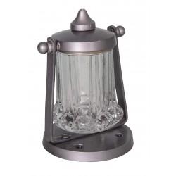 Soap dispenser Zinc / Glass