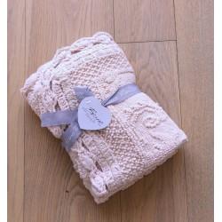 Duo de tapis jacquard avec crochet