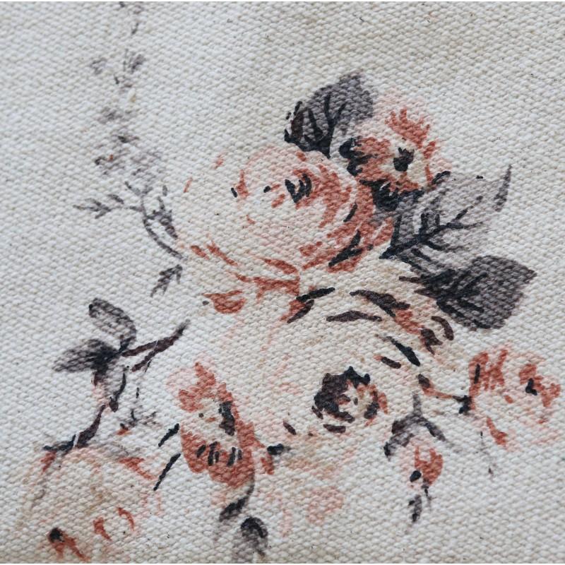 tapis au crochet shabby vert par blanc mariclo id al pour une d co shabby. Black Bedroom Furniture Sets. Home Design Ideas