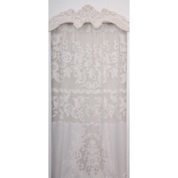 Long white curtain Maquillage 130x300 cm