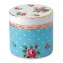 Boîte à bijoux empilable en fine porcelaine