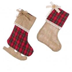 Duo de chaussettes de noël