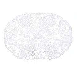 Placemat white Easther Collection