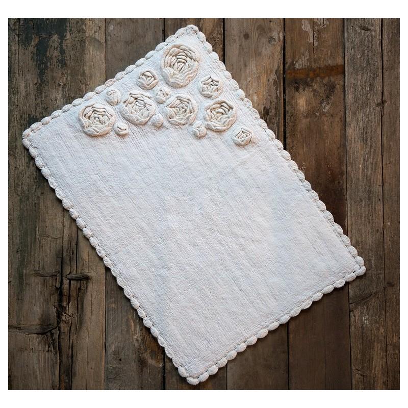 tapis bocciolo blanc cass 60x90 cm par blanc mariclo pour. Black Bedroom Furniture Sets. Home Design Ideas