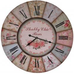 "Pendule ""Shabby Chic Roses"""
