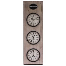 "Wall clock ""Shabby Chic Roses"""