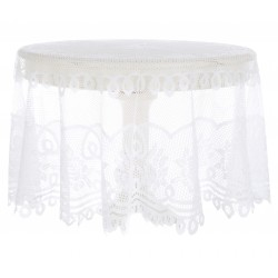 "Nappe ronde en dentelle ""Villa Roseto Collection"""
