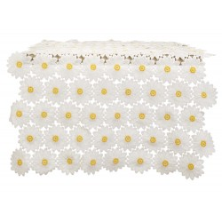 Daisy lace runner 150 x 50