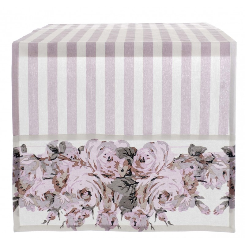 Chemin de table shabby classic collection de blanc mariclo - Chemin de table chic ...