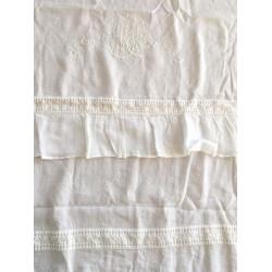 """Rideau """"Les toiles de nuit"""" 140 x 280 cm ivoire"""